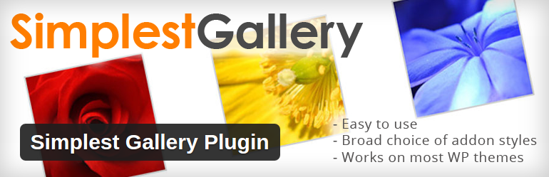 Simplest Gallery Plugin WordPress